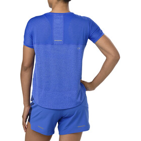 asics Crop Top Kobiety, illusion blue
